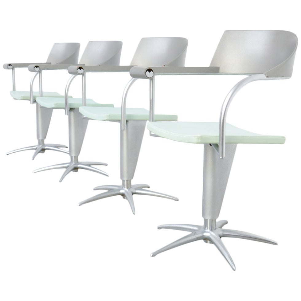 Exclusive Chair Techno by Philippe Starck for Presence Paris, L'Oréal For Sale