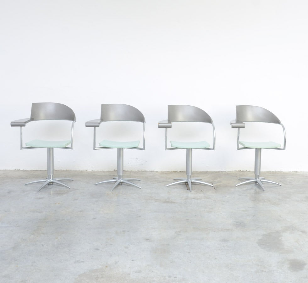 Post-Modern Exclusive Chair Techno by Philippe Starck for Presence Paris, L'Oréal For Sale