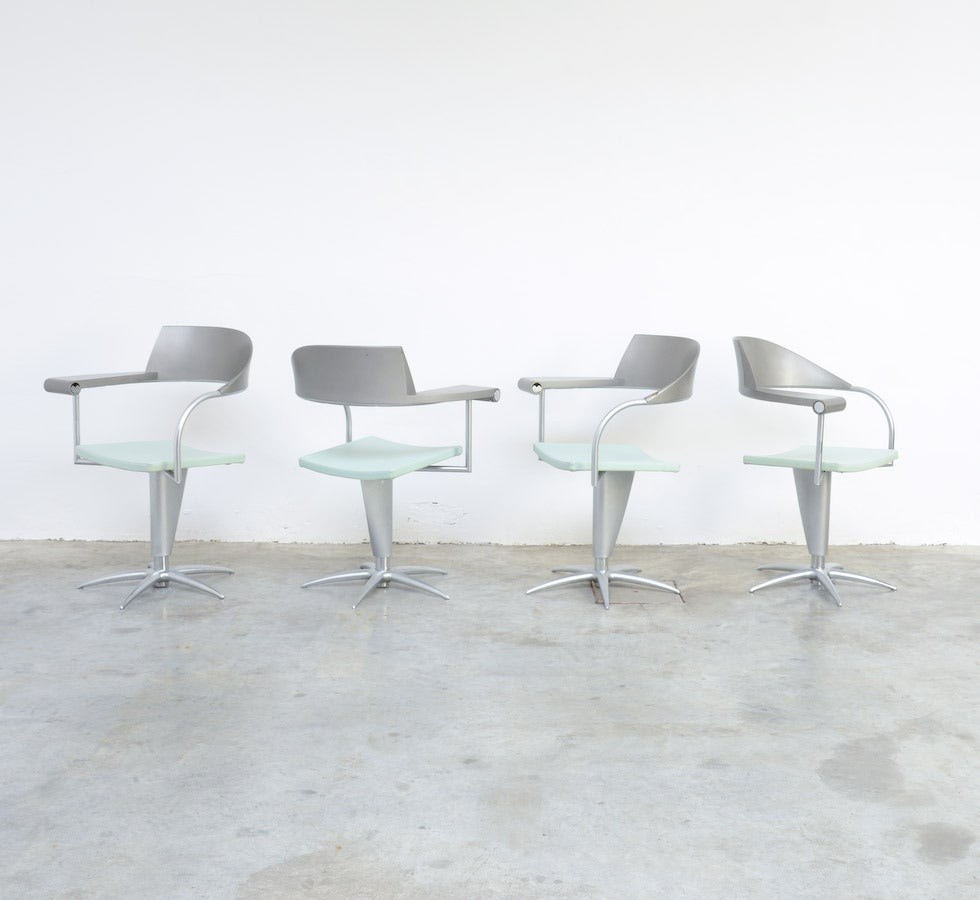 Exclusive Chair Techno by Philippe Starck for Presence Paris, L'Oréal 2
