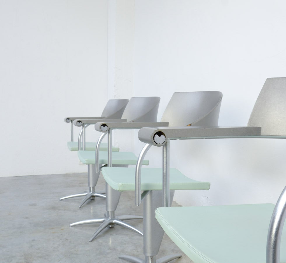 Exclusive Chair Techno by Philippe Starck for Presence Paris, L'Oréal 4