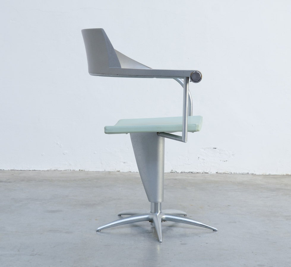 Late 20th Century Exclusive Chair Techno by Philippe Starck for Presence Paris, L'Oréal For Sale