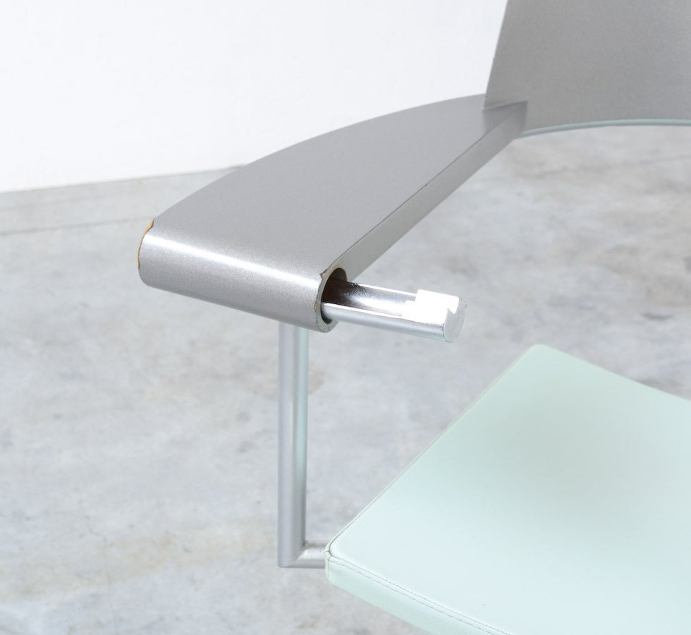 Exclusive Chair Techno by Philippe Starck for Presence Paris, L'Oréal 9