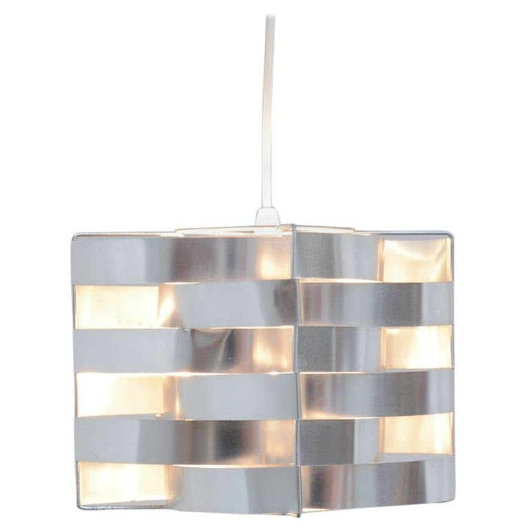 Cube Pendant Lamp by Max Sauze