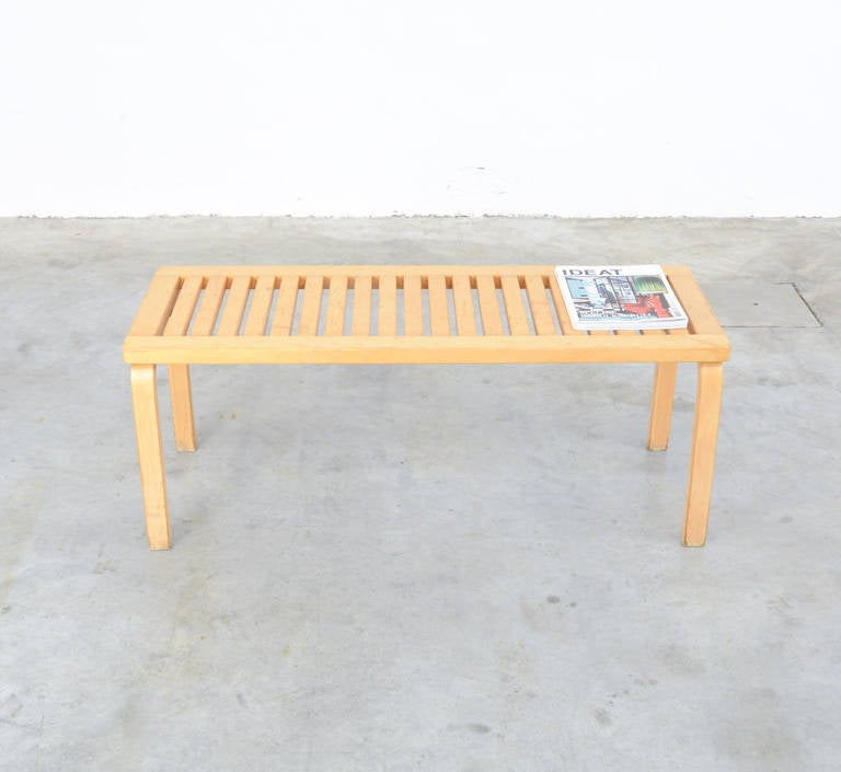 Bench Model 153a By Alvar Aalto For Artek At 1stdibs