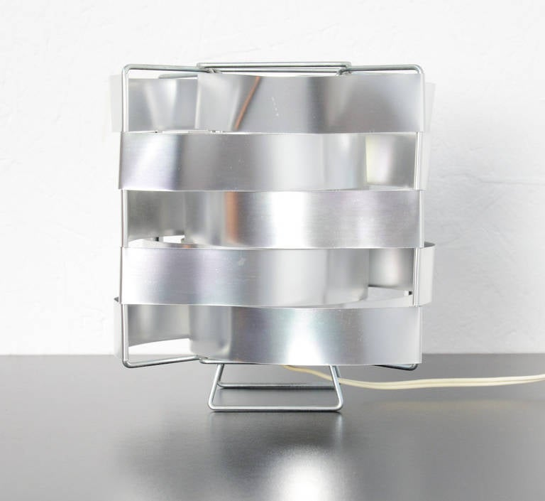 Cube Table Lamp by Max Sauze at 1stdibs