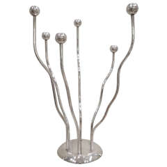 Silver Plated Candelabra by Mesa
