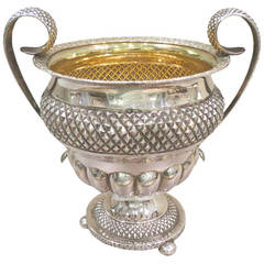 Portuguese Silver Sugar Bowl, First Half of the 19th Century