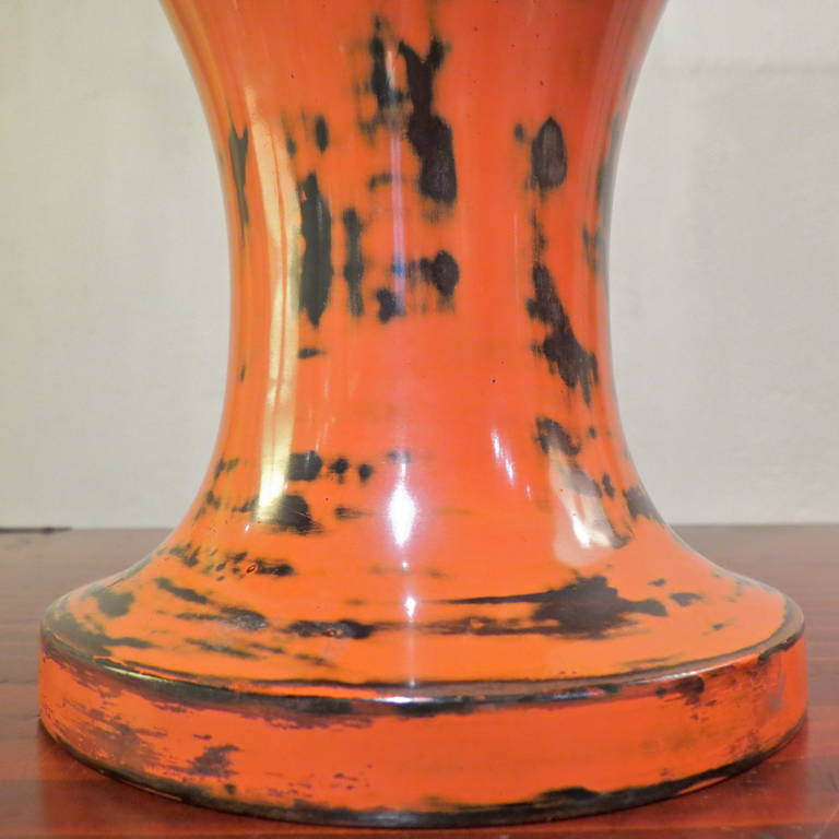 Japanese, 19th Century Lacquer Vase For Sale 1