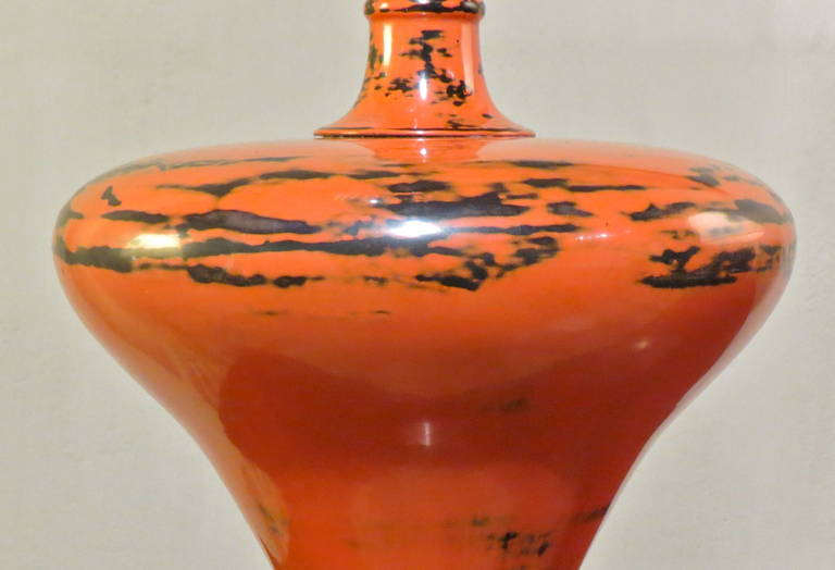 Japanese, 19th Century Lacquer Vase For Sale 3