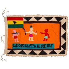Fante Asafo Flag, Ghana, circa 1960