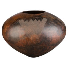 20th Century Tribal Zulu Ceramic Pot, South Africa