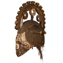 Early 20th Century Igbo Spirit Mask, Nigeria
