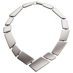 Nathalie Jean Sterling Silver Limited Edition Link Necklace