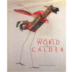 Book of the Intimate World of Alexander Calder