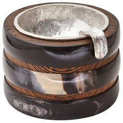 Fouché Silver Horn Ashtray