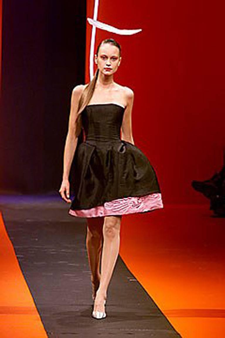 Christian Lacroix Runway 2-in-1 Detachable Pouf Petal Dress Gown  For Sale 3