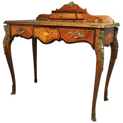Early 20th Century, French Kingwood Writing Table