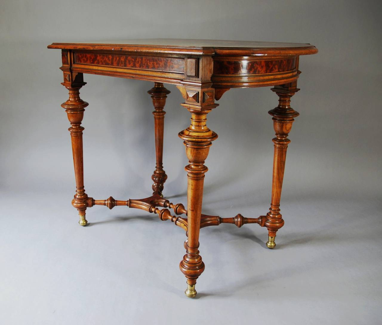 19th century french walnut centre table for sale at 1stdibs for Table th center text