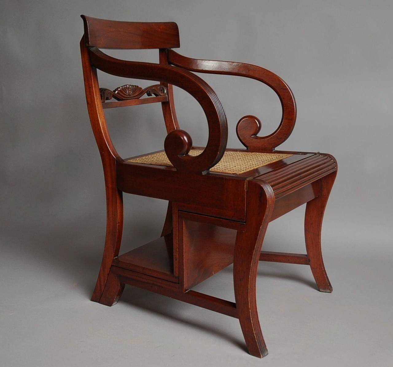 Regency Style Chairs ~ Regency style metamorphic chair for sale at stdibs