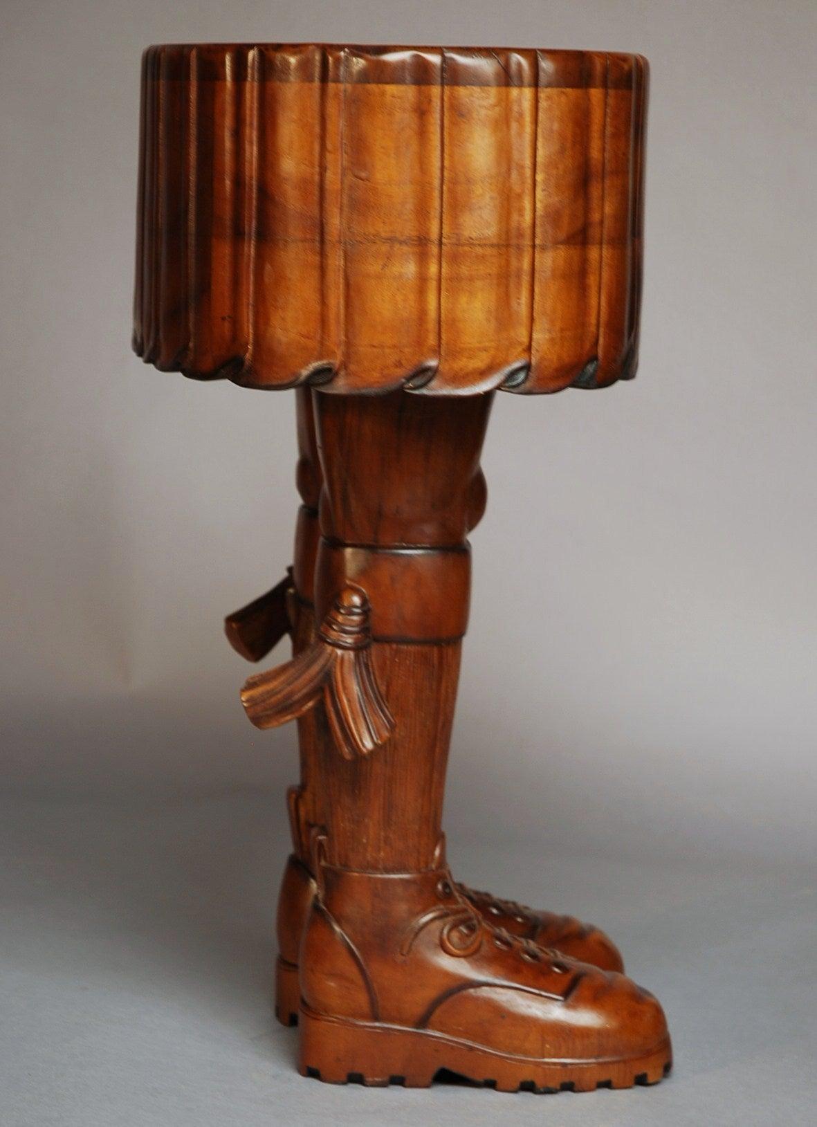 Decorative Scotsman S Kilt Table At 1stdibs