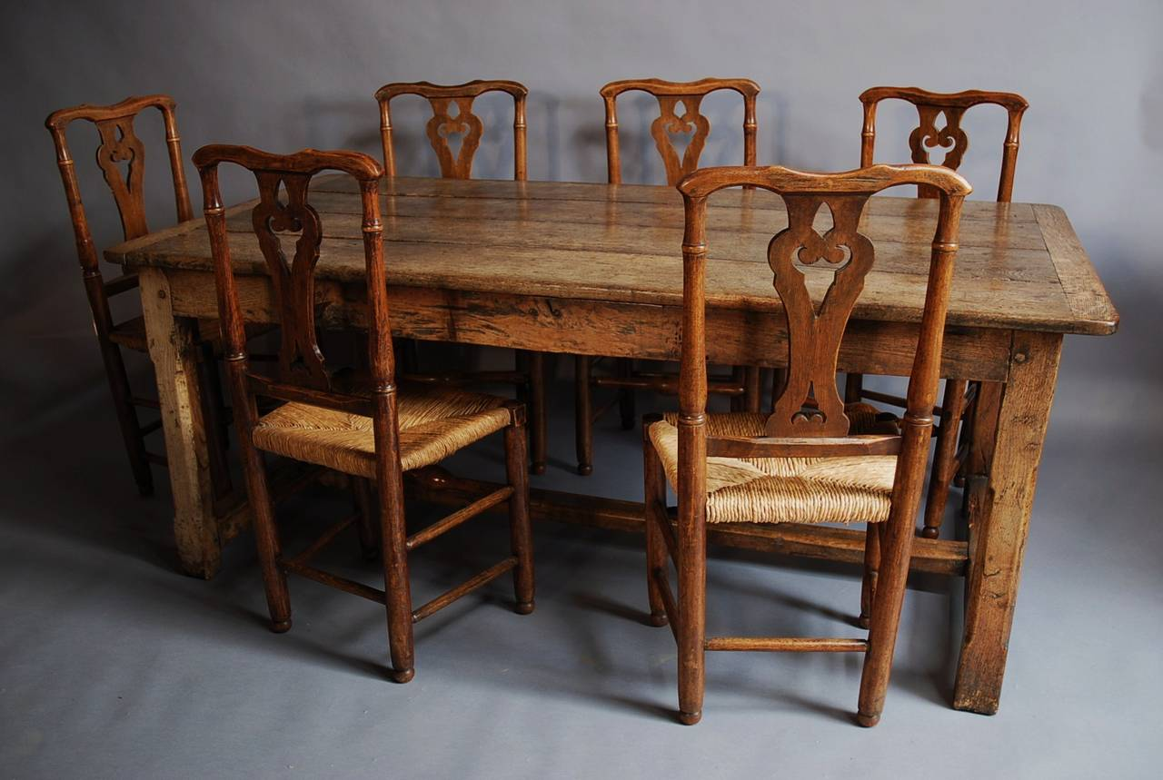 set of six fine quality ash country chairs is no longer available