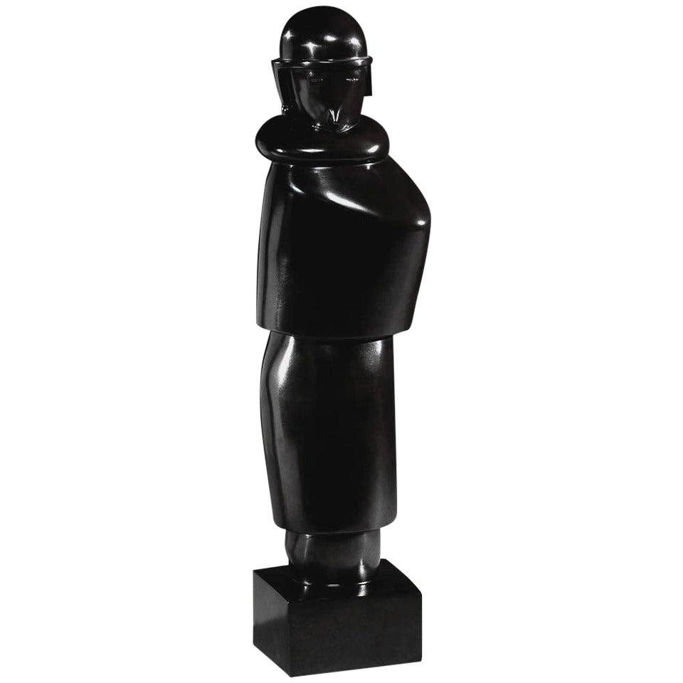 Jean Lambert-Rucki, Femme au Manchon Sculpture