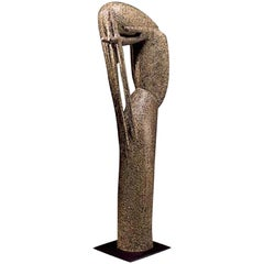 "Jean Lambert-Rucki ""Marie-Madeleine"" Bronze Sculpture, circa 1940"
