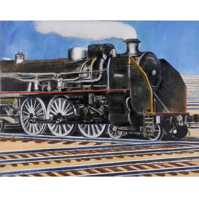 Emile Salkin, Locomotive, 1977 For Sale