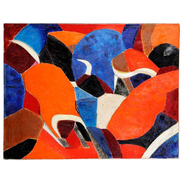 Emile salkin, Tauromachie, Malaga, 1959 For Sale