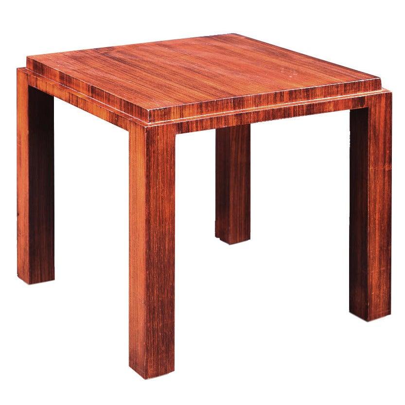 José de Andrada rosewood Side Table, circa 1925