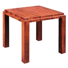 José de Andrada rosewood Side Table, circa 1925
