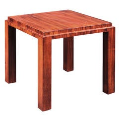 Pierre Chareau Rosewood Side Table, 1923