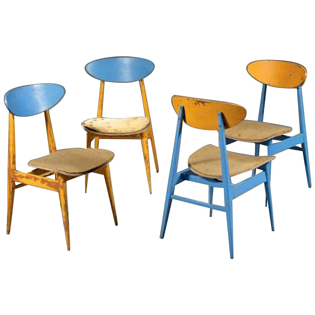 Andre Sive Set of Four Chairs