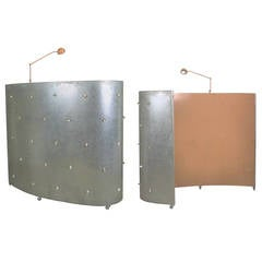 Floor Lamp and Room Divider