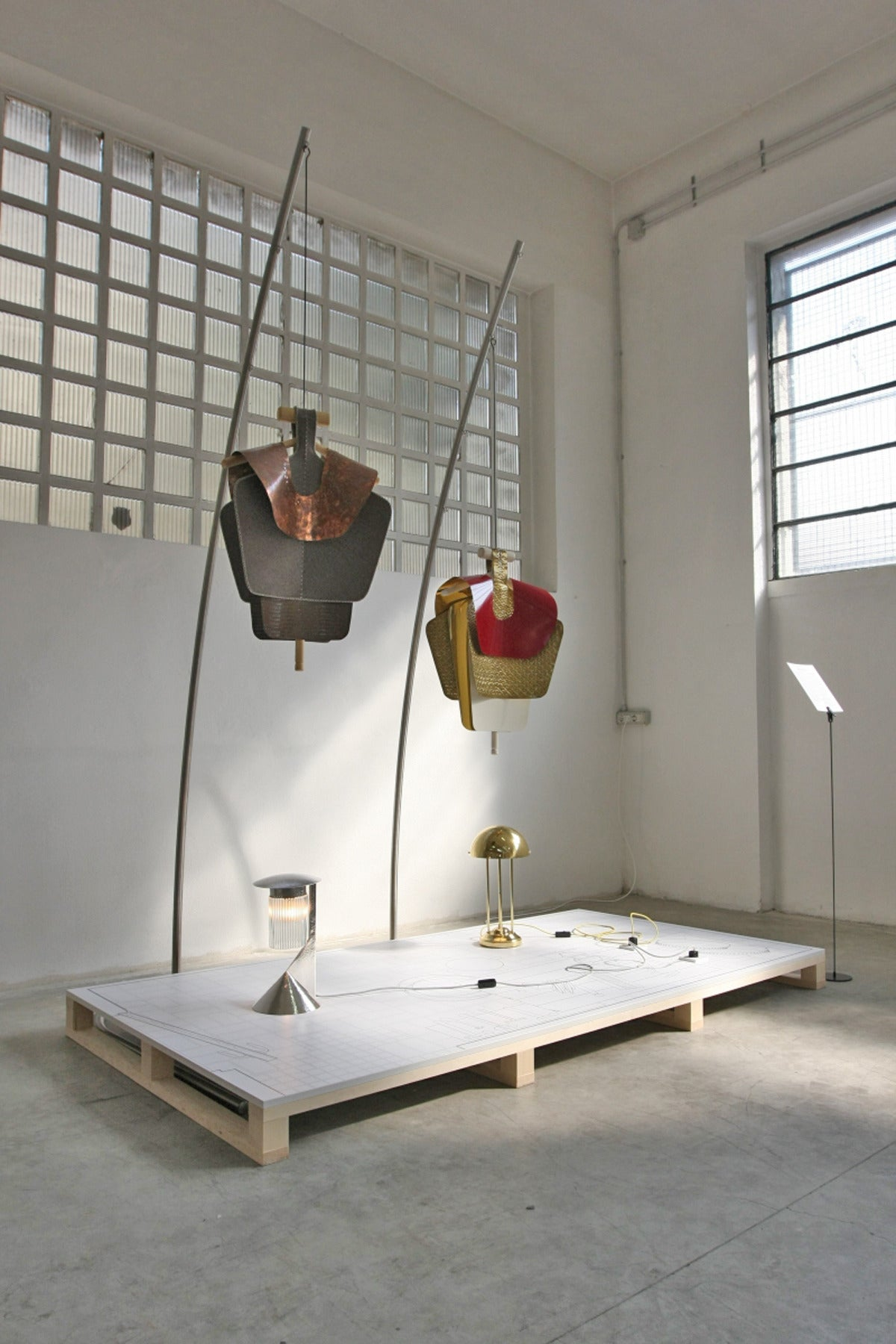 Hand-Crafted Series of 3 Sculptures for the Vienna Design Week Lucidi Pevere by Woka Vienna For Sale