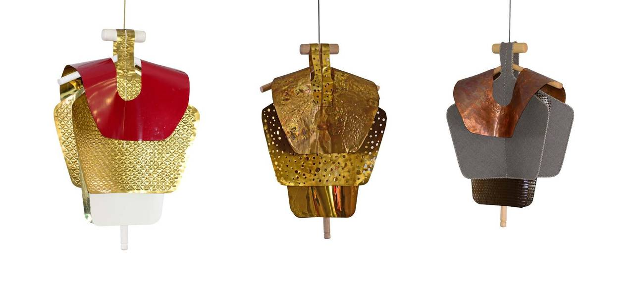 Austrian Series of 3 Sculptures for the Vienna Design Week Lucidi Pevere by Woka Vienna For Sale