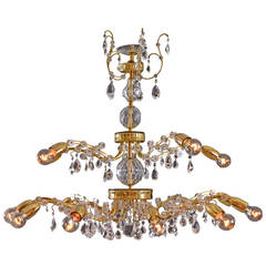 Magnificent Lobmeyr Chandelier, 1950-1960
