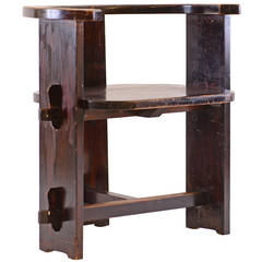 Important and very rare Jugendstil Wood Chair from 1901 -Josef Hoffmann School