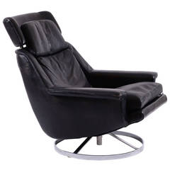 rare pollock chair 12a1 by knoll 1965 at 1stdibs. Black Bedroom Furniture Sets. Home Design Ideas