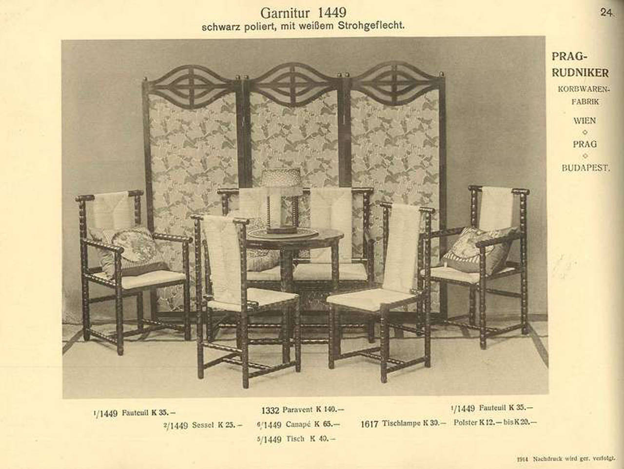 Josef zotti sitting room suite 1911 for sale at 1stdibs for Living room suites for sale