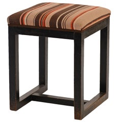 Original Josef Hoffmann Stool 1902 J&J Kohn early 20th century important design