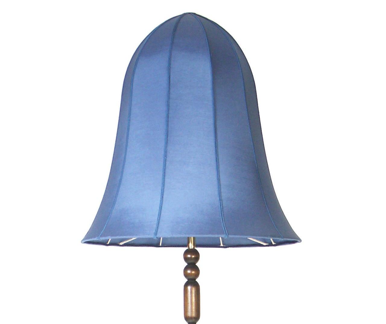 Jugendstil Dagobert Peche Wiener Werkstätte Floor Lamp, Design Wiktorin Company Re-Edition For Sale