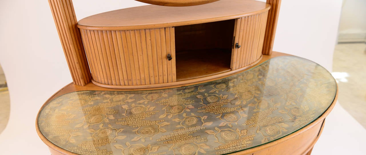 Hand-Crafted documented Dressing Table by Otto Prutscher for Thonet -Jugendstil 20th Century  For Sale
