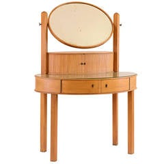 Jugendstil 20th Century documented Dressing Table by Otto Prutscher for Thonet