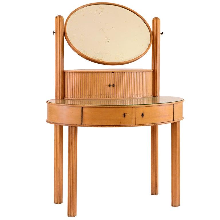 Original and Documented Dressing Table by Otto Prutscher for Thonet -Jugendstil For Sale