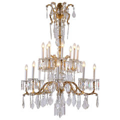 Wonderful Lobmeyr Baroque Style Chandelier from the 1920s