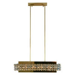 New York City Art Deco Chandelier At 1stdibs