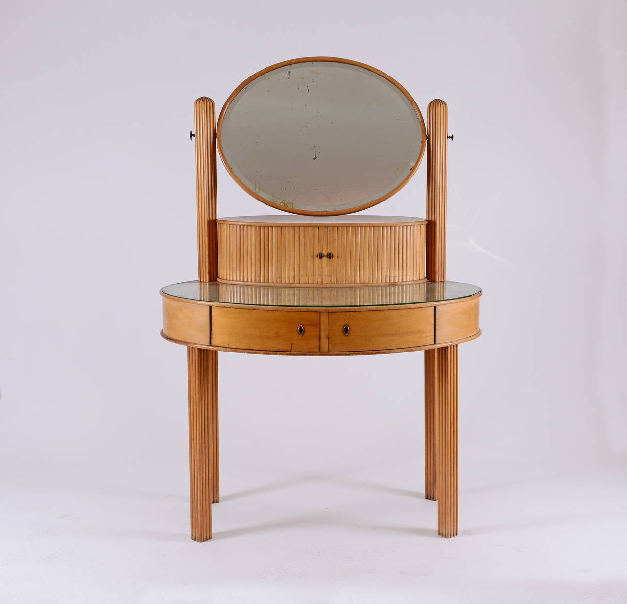 documented Dressing Table by Otto Prutscher for Thonet -Jugendstil 20th Century  For Sale 1