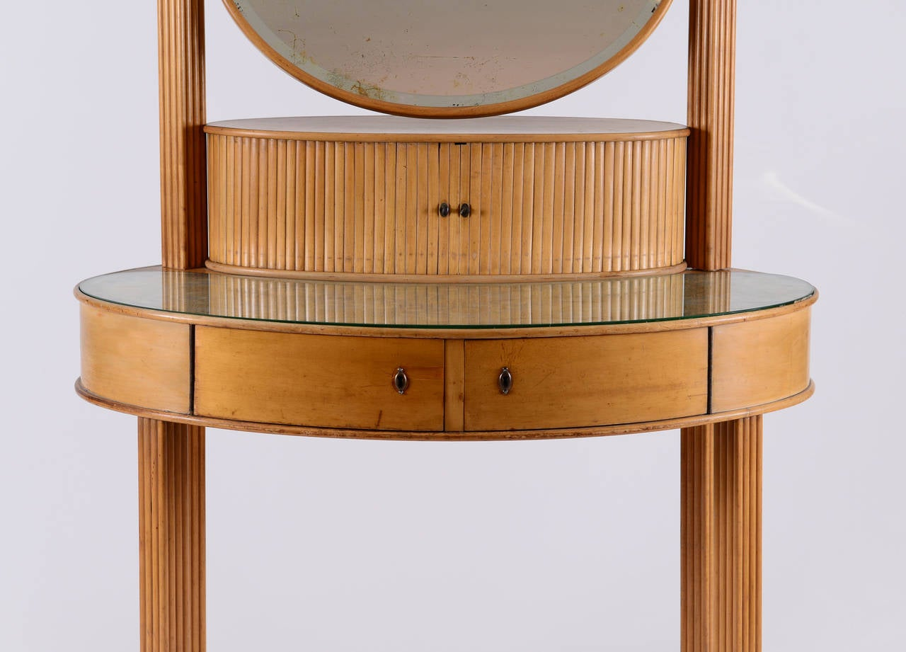 documented Dressing Table by Otto Prutscher for Thonet -Jugendstil 20th Century  For Sale 2