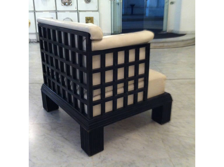 Original Art Deco Wiener Werkstaette Throne - Werkbund Exhibition Cologne 1914  In Excellent Condition For Sale In Vienna, AT